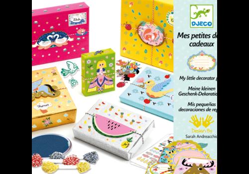 DJECO - Papier creatif - Mes petites deco cadeaux