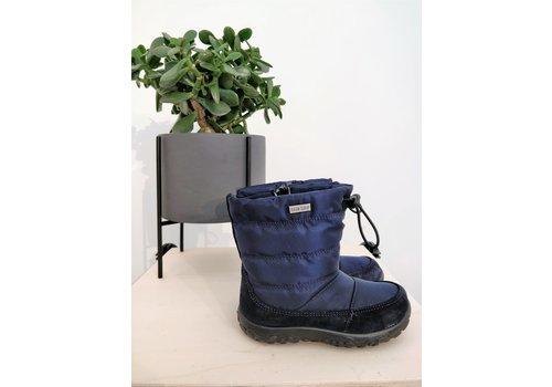 NATURINO - Boots - Velour/Nylon Navy