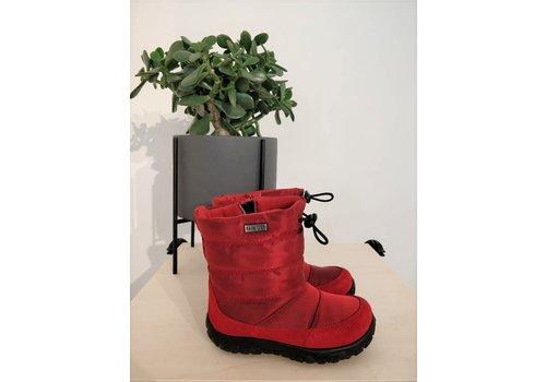NATURINO - Boots - Velour/Nylon Rosse