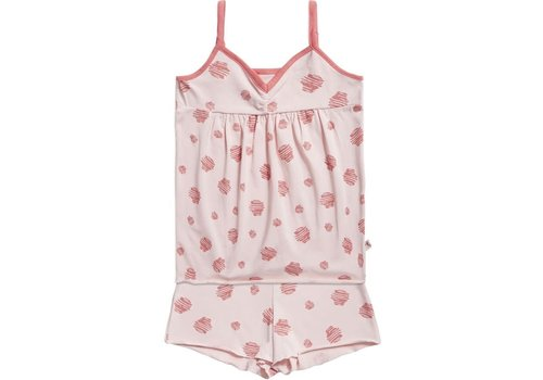 TEN CATE - Pyjama - Scratch dot fresh powder coral - maat 86 tem 140