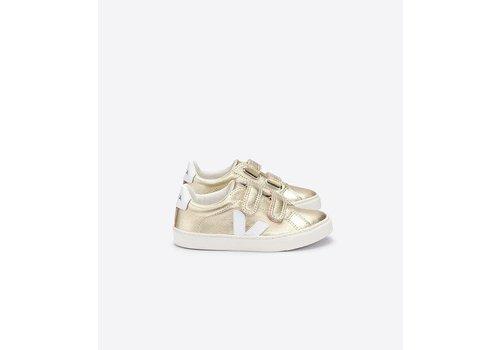 Veja VEJA - Sneaker - Velcro Leather Gold/White