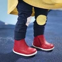 BOBUX - Boots - Paddington Red