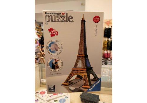 TWEEDEHANDS - Ravensburger 3D - Puzzel Eiffel