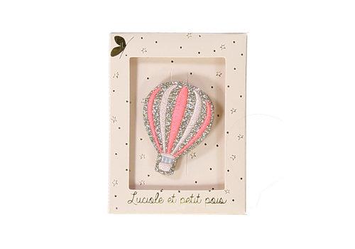 Luciole et Petit Pois LUCIOLE ET PETIT POIS - Broches - Balloon Pink
