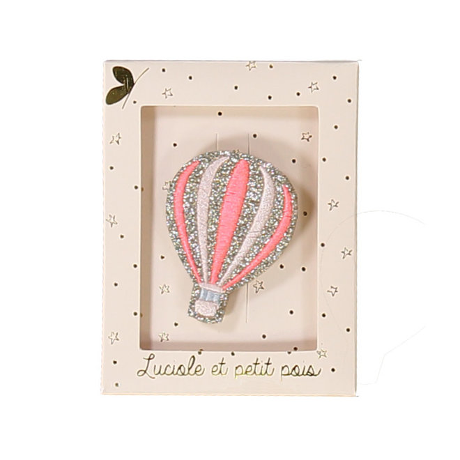 LUCIOLE ET PETIT POIS - Broches - Balloon Pink