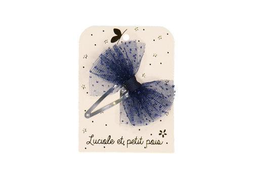 Luciole et Petit Pois LUCIOLE ET PETIT POIS - Solo Haarspelden - Strik Tutu Blue