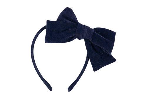 Luciole et Petit Pois LUCIOLE ET PETIT POIS - Haarband - Strik Velvet Blue