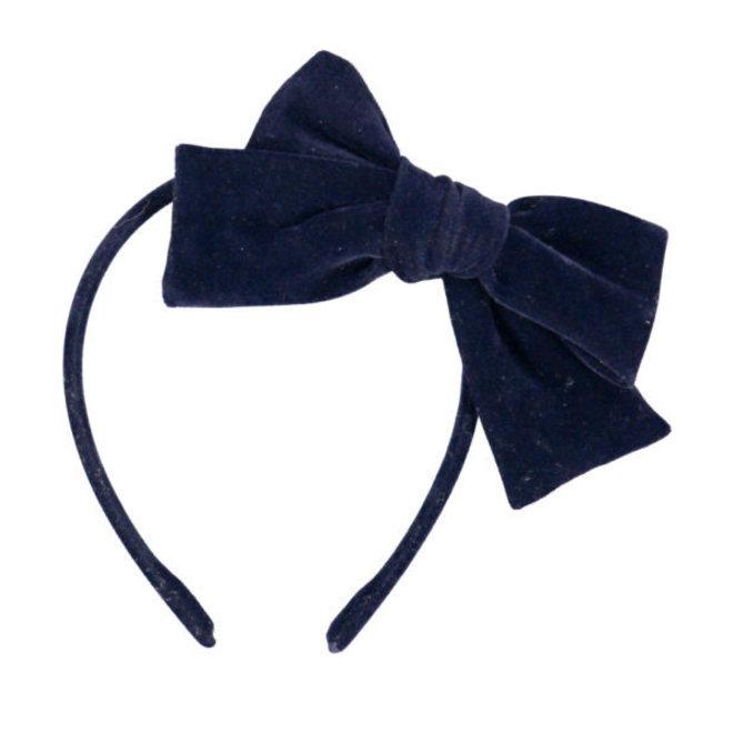 LUCIOLE ET PETIT POIS - Haarband - Strik Velvet Blue