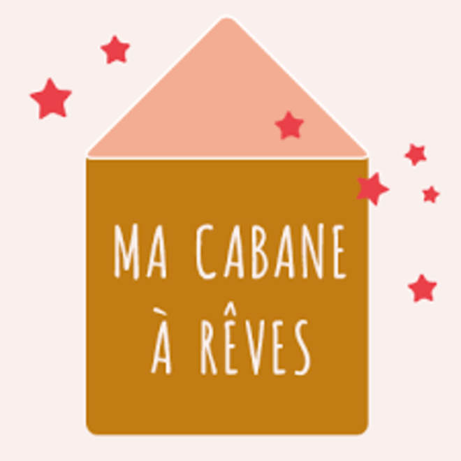 MA CABANE A REVES - Magnetisch Tekenbord Mint/Zalm