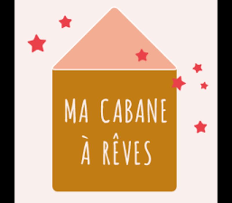 MA CABANE A REVES - Magnetisch Tekenbord