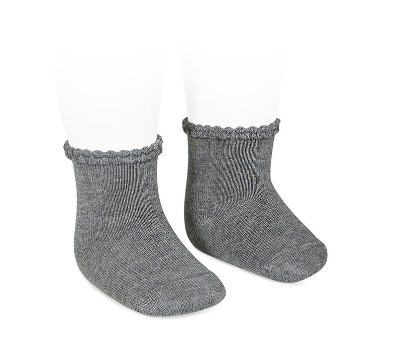 CONDOR - Short Sock with Openworked cuff (230)
