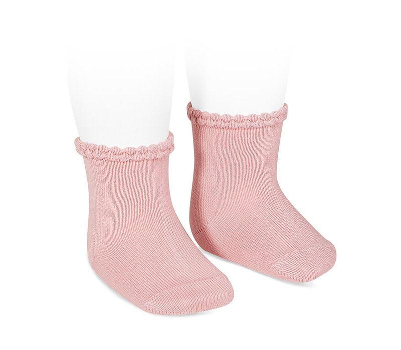 CONDOR - Short Sock with Openworked cuff (526)