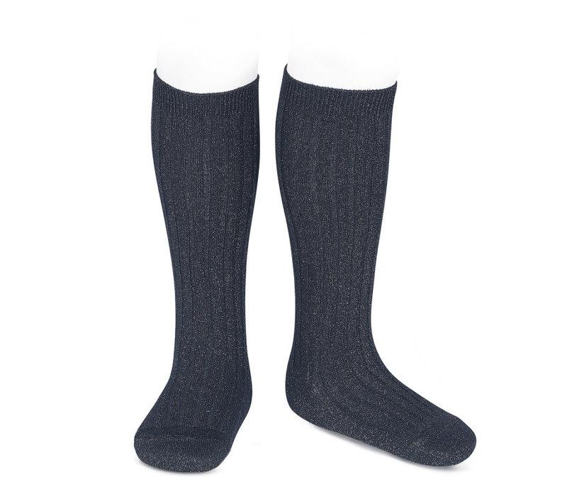 CONDOR - Lurex Knee socks (946)