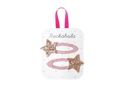 ROCKAHULA - Haarspelden - Bedazzle Glitter Star Pink