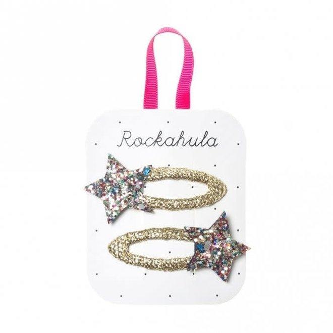 ROCKAHULA - Haarspelden - Bedazzle Glitter Star Multi