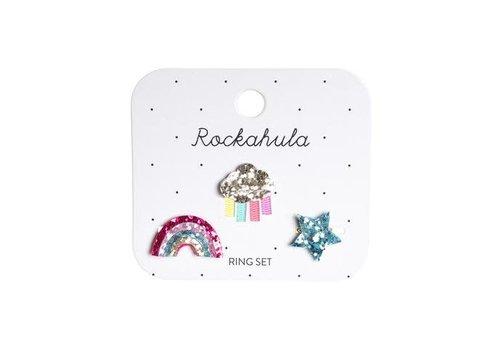 ROCKAHULA - Ring Set - Rainy Cloud