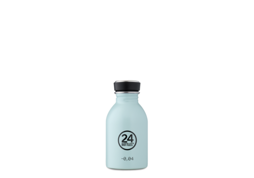 24°Bottles 24°BOTTLES - Urban Bottle - Cloud Blue 250ml