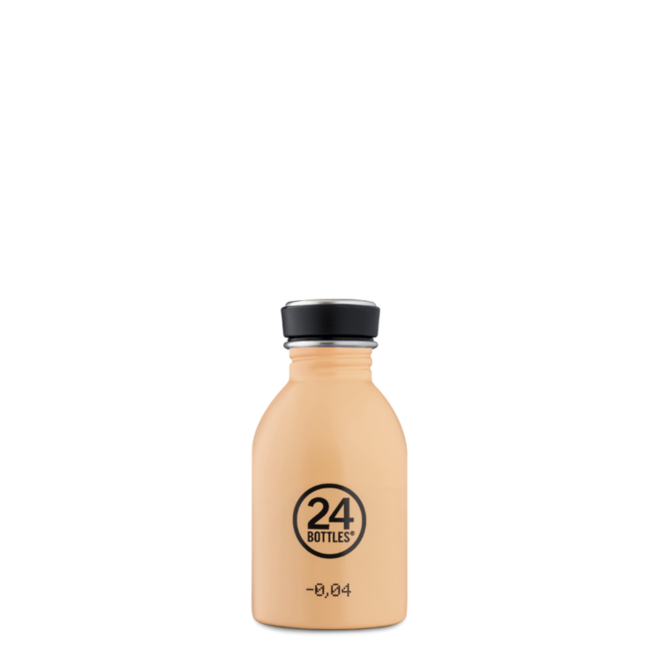 24°BOTTLES - Urban Bottle - Peach Orange 250ml