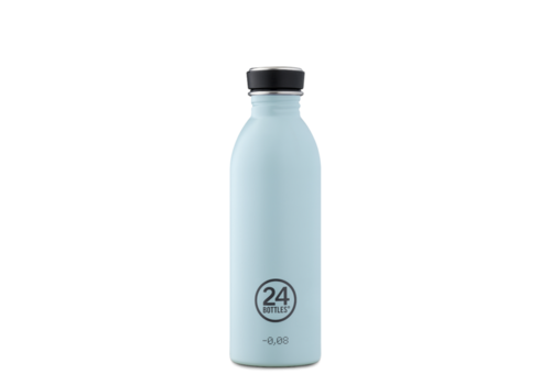 24°Bottles 24°BOTTLES - Urban Bottle - Cloud Blue 500ml