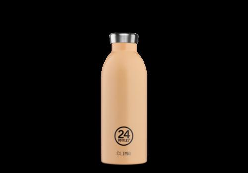 24°Bottles 24°BOTTLES - Clima Bottle - Peach Orange 500ml