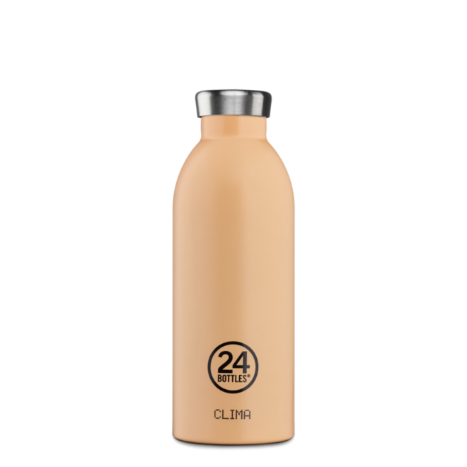 24°BOTTLES - Clima Bottle - Peach Orange 500ml