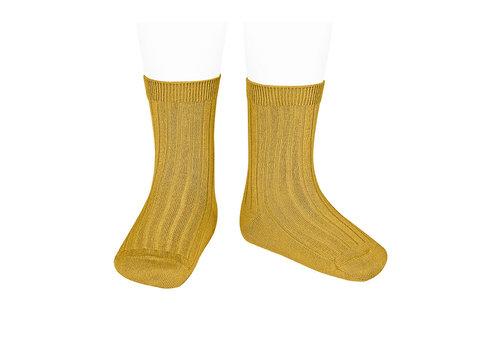 CONDOR CONDOR - Korte Sokken - Mustard (629)