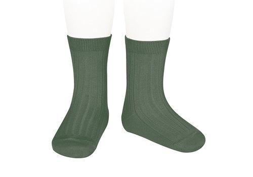 CONDOR CONDOR - Korte Sokken - Lichen green (761)
