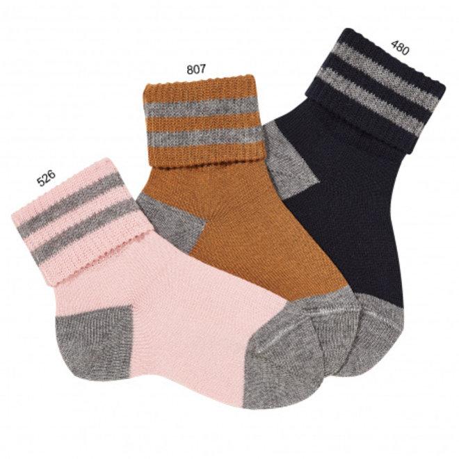 CONDOR - Korte Sokken met omslag - Verschillende kleuren