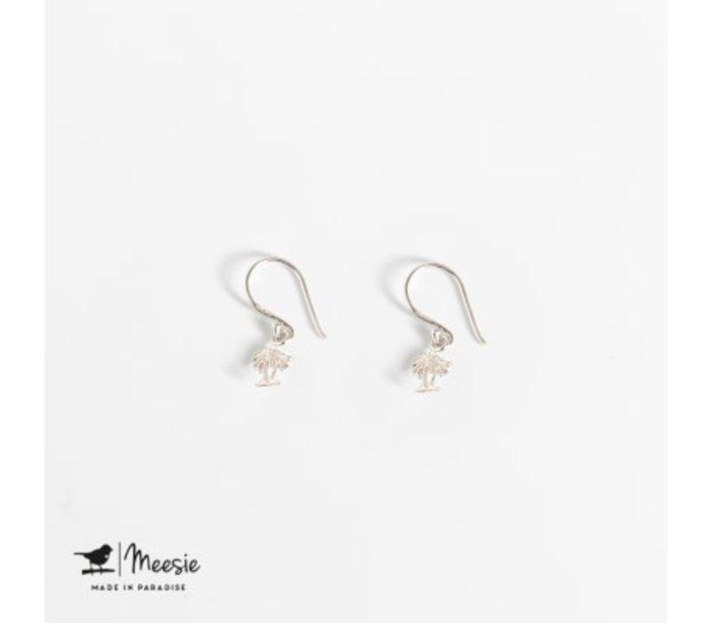 MEESIE&BINTJE - Oorbellen - Palmboom (Zilver)