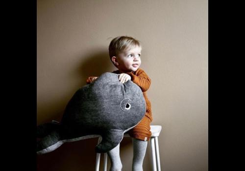 Filibabba FILIBABBA - Knuffel - Whale 60cm