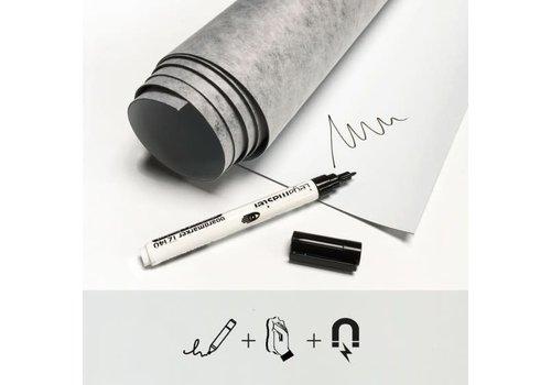 Groovy Magnets GROOVY MAGNETS - Magneet&Kleurbehang - Effen Wit ( verschillende afmetingen)
