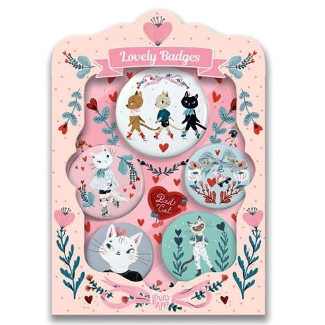 DJECO - Lovely Badges - Lucille