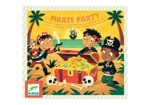 DJECO - Birthday Game - Pirate Party