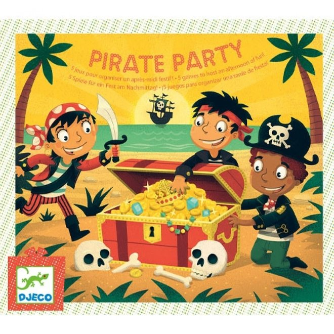 DJECO - Schattenjacht  - Piraten feest! 5+