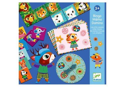 DJECO - Eerste spelletjes - Bingo Memo Domino