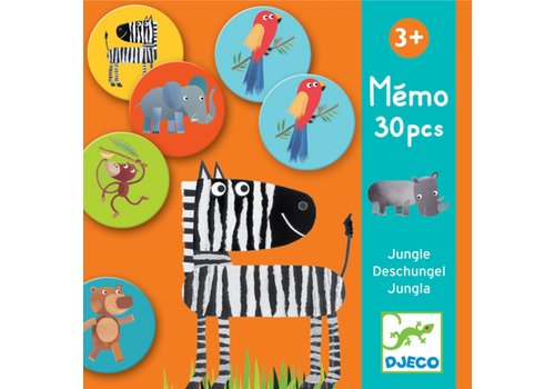 DJECO - Eerste spelletjes - Memo Jungle