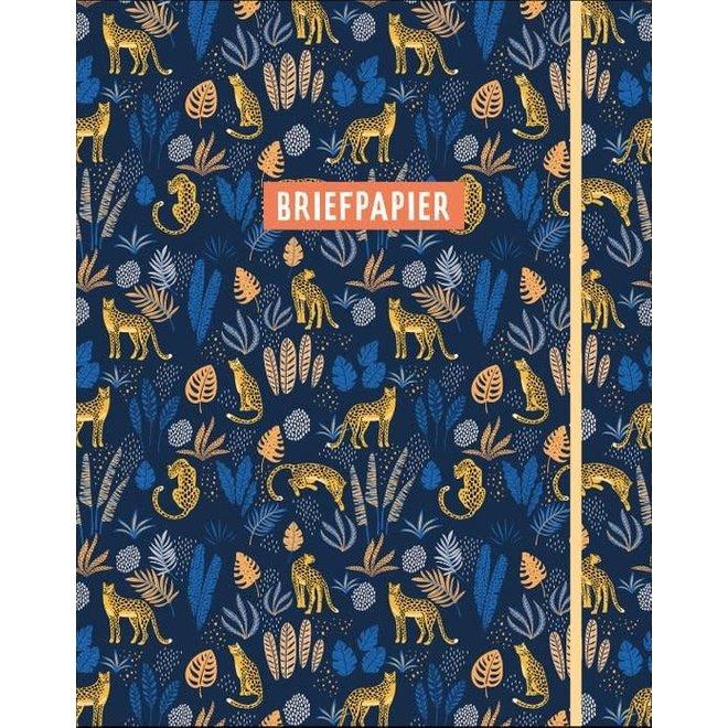 DELTAS - Briefpapier - Jungle Blue