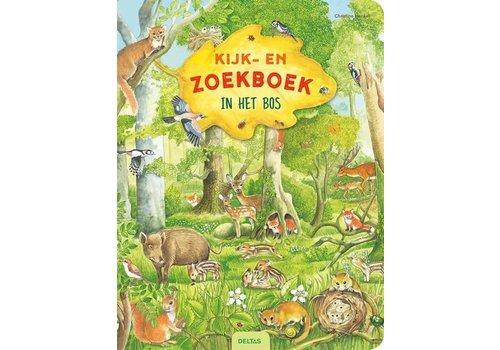 Deltas DELTAS - Kijk&Zoekboek - In Het bos