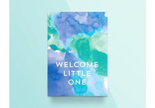 """Kathings Kathings - Postkaart - Colors """"Welcome Little One"""""""