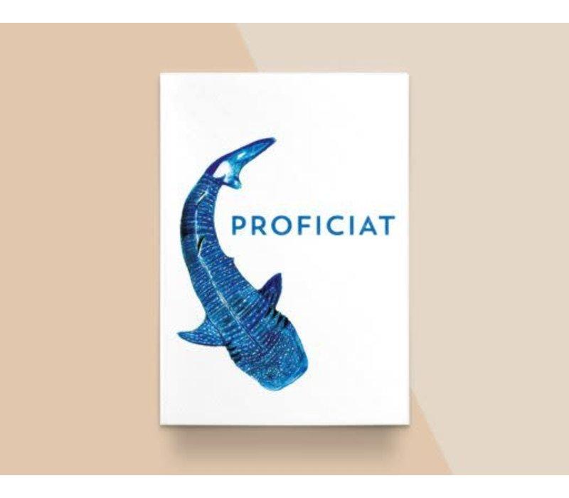 "Kathings - Postkaart - Animals  ""Proficiat"" Walvishaai"