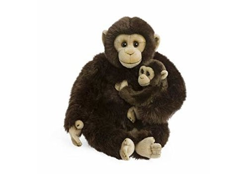 WWF WWF - Chimpanzee Mother&Child (25cm)