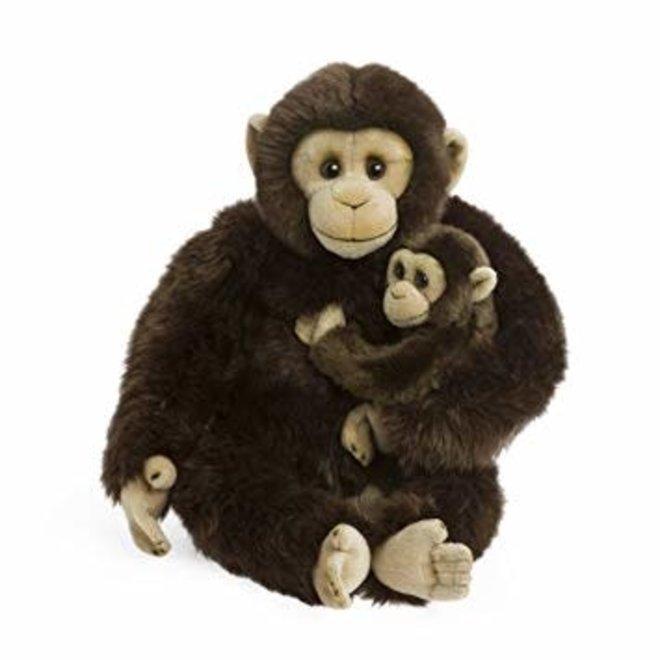 WWF - Chimpanzee Mother&Child (25cm)