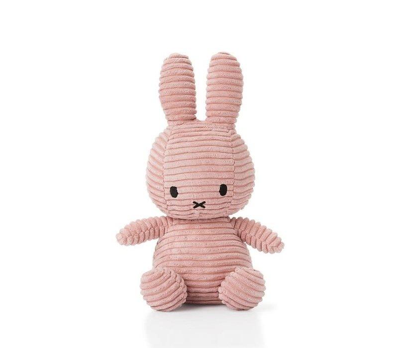 """Miffy """" Nijntje"""" - Corduroy Roos (23 cm)"""