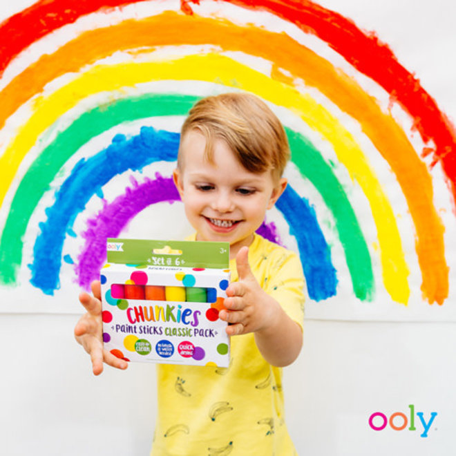 OOLY - Creatief met Verf - Chunkies Starters Set