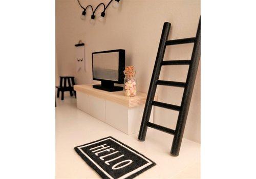 PROJECT DOLLHOUSE - Ladder - Zwart