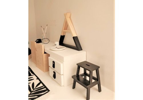 PROJECT DOLLHOUSE - Tipi Wandrek - Zwart