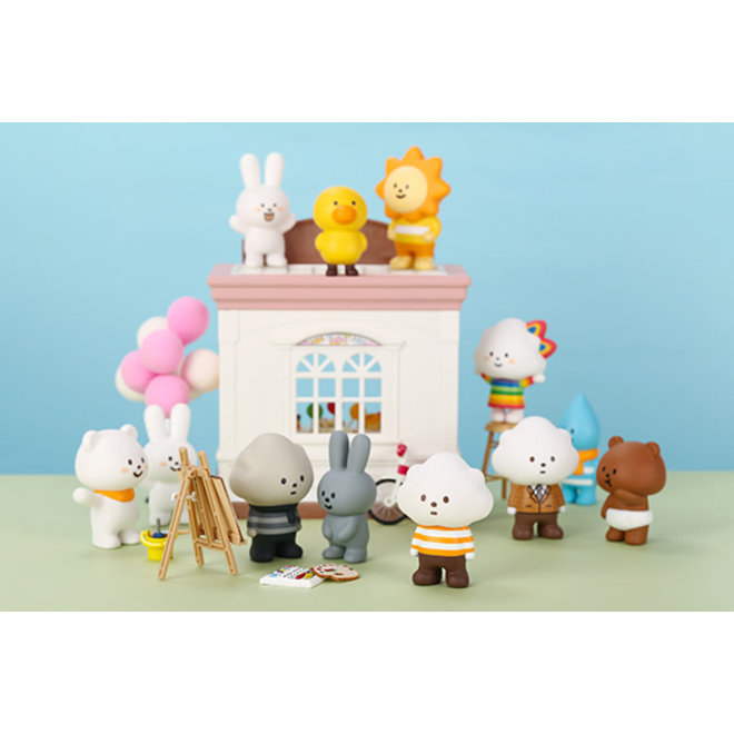 POP MART - POP ART - Fluffy House Serie 1