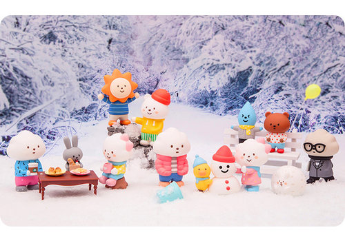 Pop Mart POP MART - POP ART - Fluffy House Winter