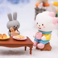 POP MART - POP ART - Fluffy House Winter