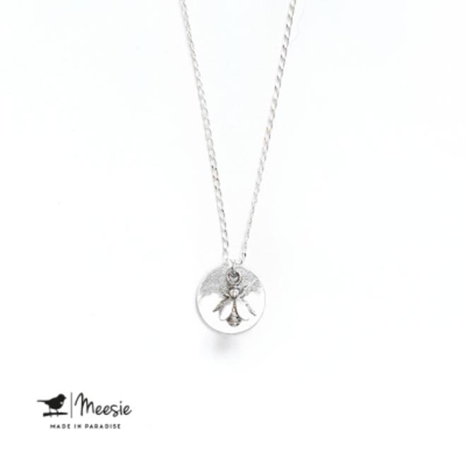 MEESIE&BINTJES - Halsketting - Bij (Zilver)